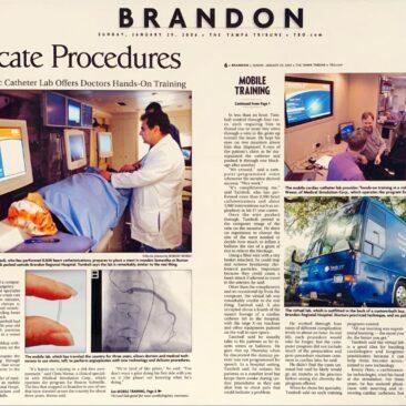 Mobile Cardiac Catheter Lab