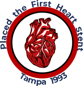 First Heart Stent in Tampa Bay